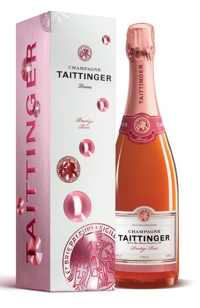 Taittinger Brut Prestige Rosé NV (6 x750mL), Champagne, France.