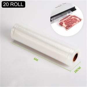 20x Vacuum Food Sealer Roll - 6m x 28cm