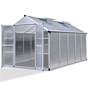 Green Fingers 3.1 x 2.5m Polycarbonate A