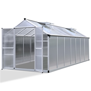 Green Fingers 4.1 x 2.5m Polycarbonate A