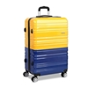 Wanderlite Lightweight Hard Suit Case - Yellow & Purple