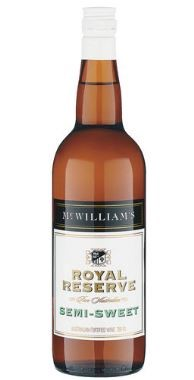McWilliam's Royal Reserve Semi Sweet NV (12 x 750mL), SE AUS.