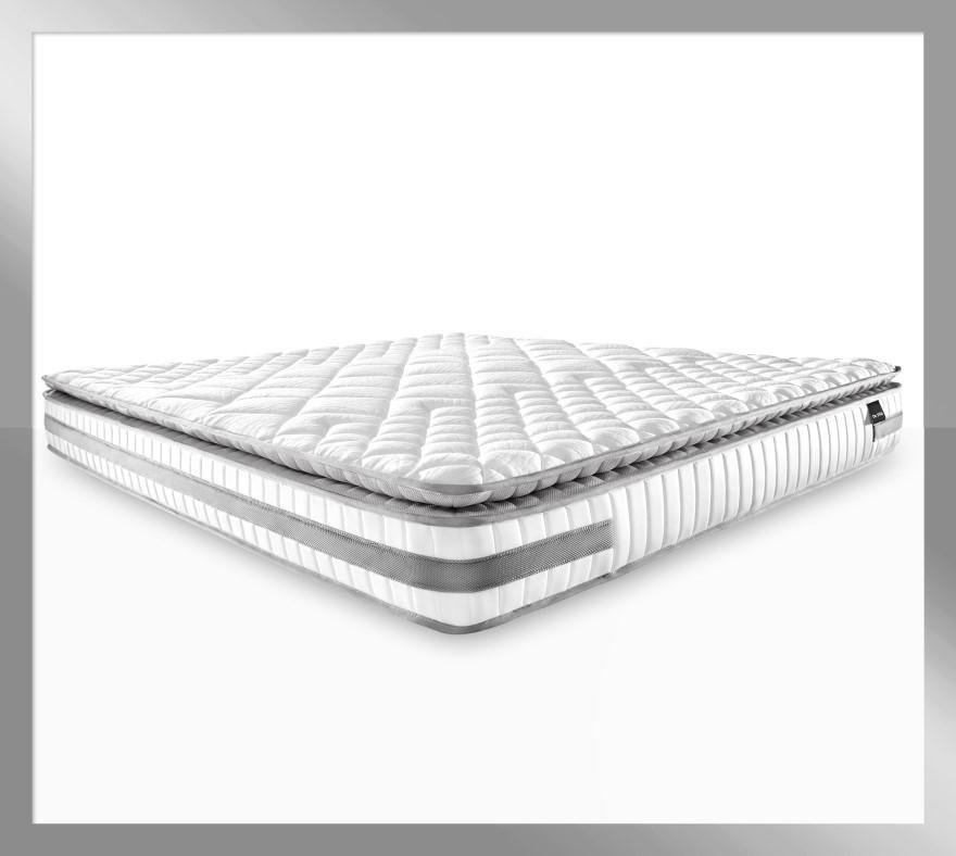 Atlas Platinum - Latex Pillow Top Mattress with Firm Edge, Queen size