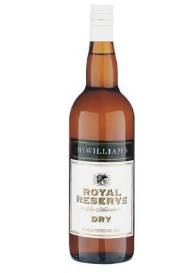 McWilliam's Royal Reserve Dry Apera NV (12 x 750mL), SE AUS.