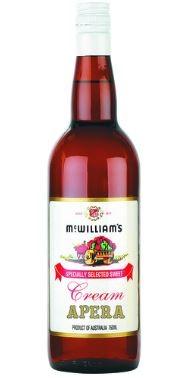 McWilliam's Cream Apera NV (12 x 750mL), SE AUS.
