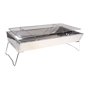 Portable Skewer Charcoal BBQ with Grill