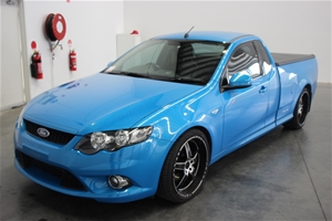 2011 Ford Falcon Fg Xr6 Turbo Automatic Ute 92 799km Auction