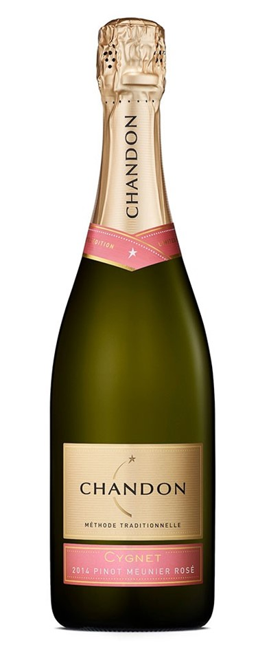 Chandon Cygnet Pinot Meunier Rose 2014 (6 x 750mL), Yarra Valley, VIC'