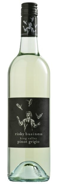 Risky Business Pinot Grigio 2018 (12 x 750mL) King Valley, VIC