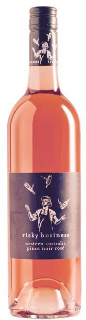 Risky Business Pinot Noir Rosé 2018 (12 x 750mL) Great Southern, WA
