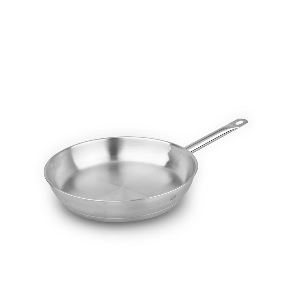 Pro-X 20cm Stainless Steel Frypan Frying Pan Skillet Dishwasher Oven Safe