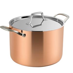 Lassani Tri-Ply Copper 24cm Casserole St