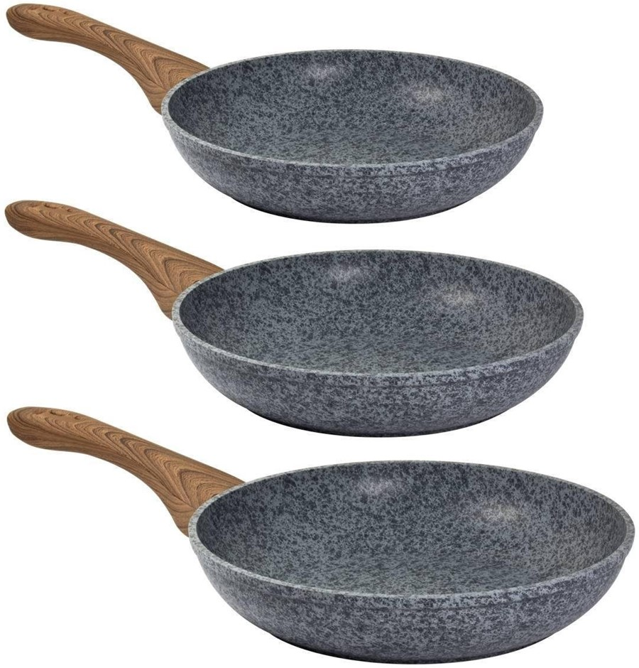 Steinfurt Stone Nonstick aluminium Cookware Set Frying Pan