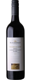 Bleasdale `The Broad-Side` Shiraz Cabernet Malbec 2016 (6 x 750mL), SA.