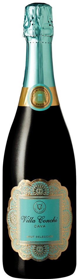 Villa Conchi Cava Brut NV (6 x 750mL), Spain.