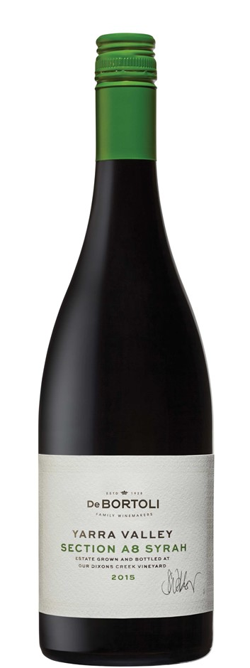 De Bortoli Single Vineyard Section A8 Syrah 2015 (6 x 750mL), Yarra Valley