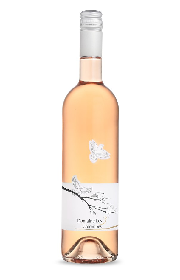 Domaine les 3 Colombes Gard Rose 2017 (6 x 750mL) France