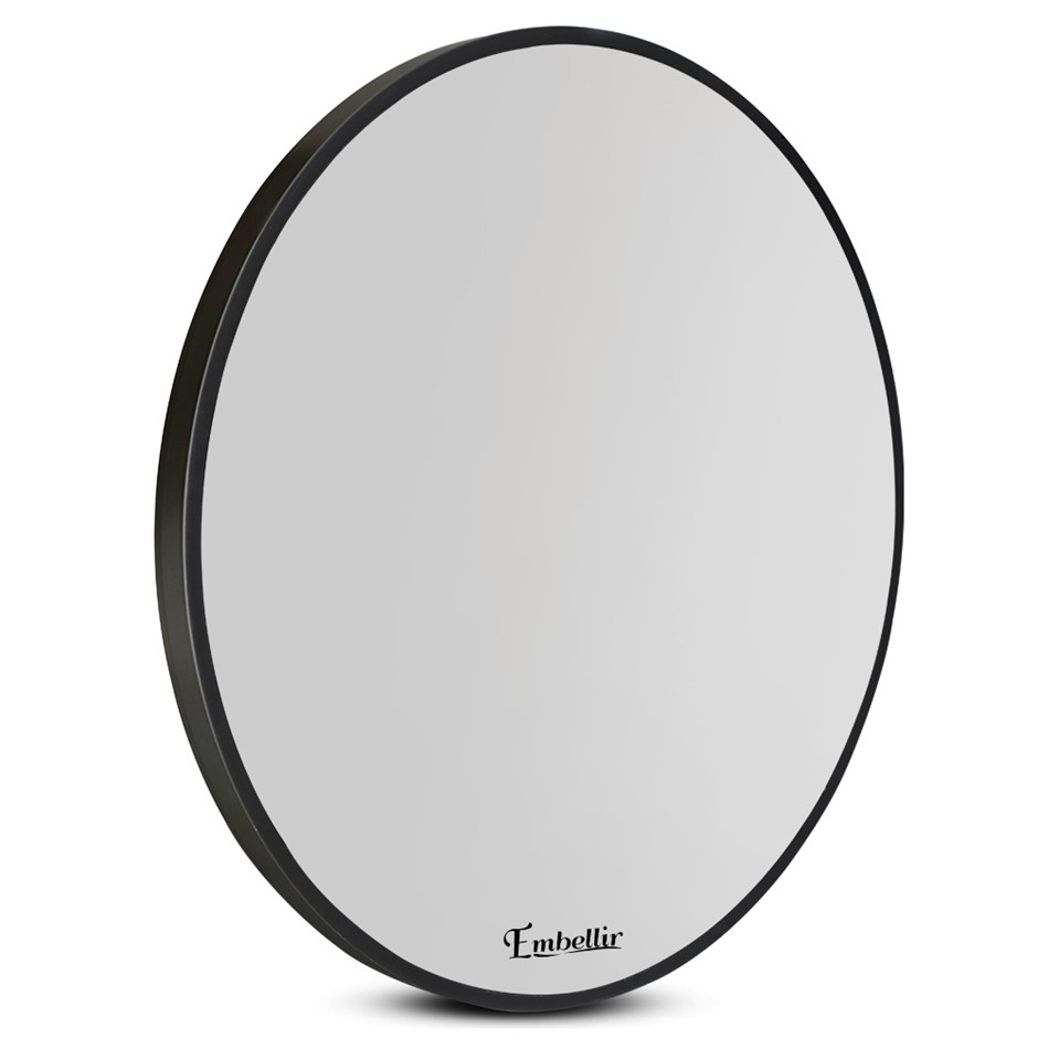 Embellir 60cm Frameless Round Wall Mirror