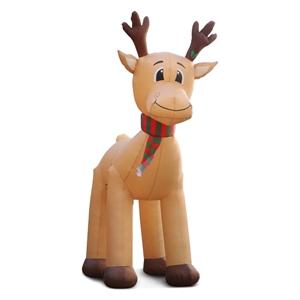 Jingle Jollys 5M Inflatable Christmas Re