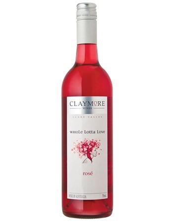 Claymore Whole Lotta Love Rose 2016 (12 x 750mL), Clare Valley, SA.