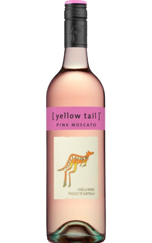 Yellowtail Pink Moscato NV (6 x 750mL), SE, AUS.