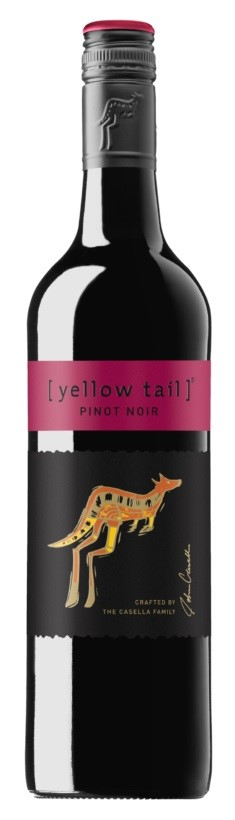 Yellowtail Pinot Noir 2016 (6 x 750mL), SE, AUS.