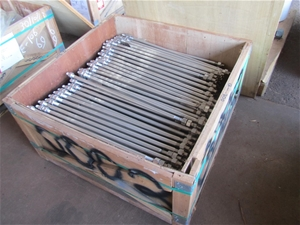 A large Qty of stainless steel bolts in timber crate (Winnellie, NT)