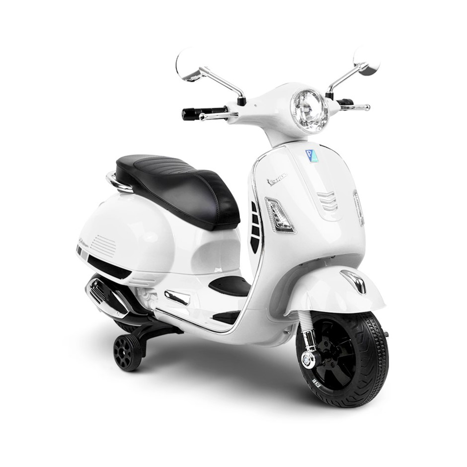 Rigo Kids Ride On Vespa - White