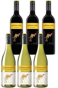 Yellowtail Chardonnay & Shiraz Mixed Pac