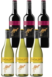 Yellowtail Chardonnay & Pinot Noir Mixed Pack (6 x 750mL),SE AUS.