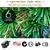 5Ft 150cm Fibre Optic LED Christmas Tree - MULTI COLOUR