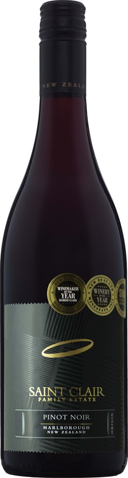 Saint Clair Origin Pinot Noir 2017 (6 x 750mL), Marlborough, NZ.