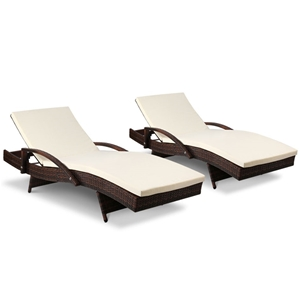 Gardeon Outdoor Sun Lounge Chair with Cu