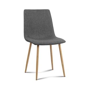 Artiss 4X Collins Dining Chairs - Dark G