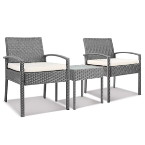 Gardeon 3-piece Outdoor Set - Grey