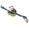 4 x Tie Down Assemblies, Ratchet Type, 35mm x 5M, L/C 1500kg c/w Hook & Kee