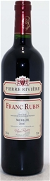 Franc Rubis Merlot 2016 (12x 750ml), France.