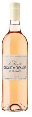 La francette Cincault et Granache Rose NV (6 x 750mL) Vin de france