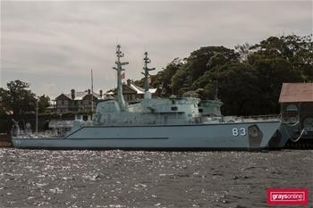 HMAS HAWKESBURY 83