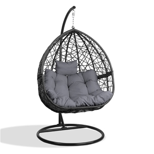 Gardeon Outdoor Hanging Swing Chair - Bl