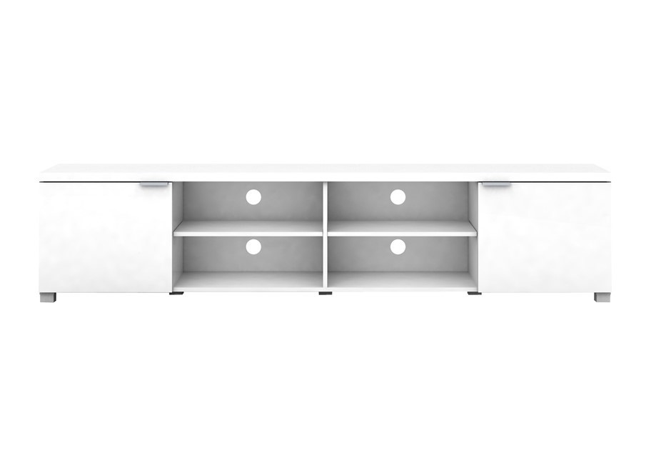 Kyana High Gloss Entertainment Unit 2m - White