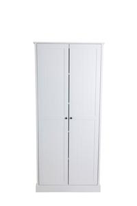 Hamptons 2 Door 5 Tier Shelf 80cm Multip