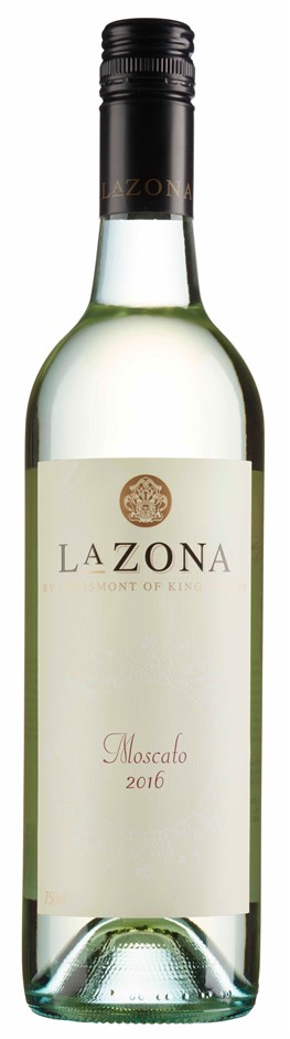 La Zona Moscato 2016 (12 x 750mL), King Valley, VIC.