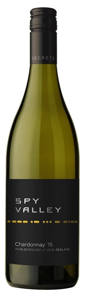 Spy Valley Chardonnay 2016 (12 x 750mL), Marlborough, NZ.