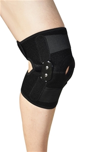 Hinged Full Knee Support Brace Protectio