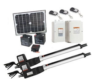 1000KG 10W Solar Double Swing Auto Motor