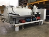 <b>Skid Mounted Hydraulic Tipping 3000 Litre Vacuum Tank with Rear Opening