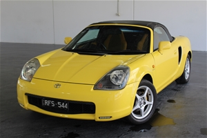 2001 Toyota Mr2 Spyder Zzw30r Manual Convertible