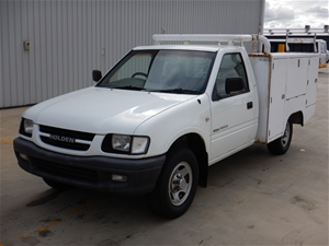 2001 Holden Rodeo LX R9 Manual Cab Ute