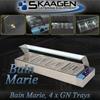 Unused 4 x 1/2 Tray Stainless Steel Bain Marie - HSL-4